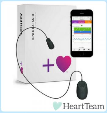 Inner Balance Sensor HeartMath Stress Angst Depression Heartteam